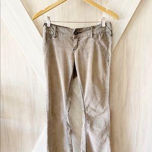 Vintage Free People Corduroy Flare Pants